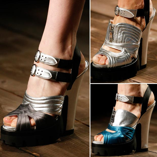 Prada Fall 2013 sandals
