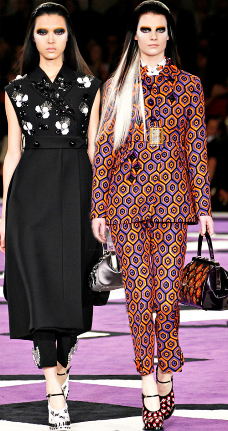 Pleasure Of: Prada Fall Winter 2012 2013 Collection
