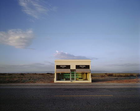Prada Store in Marfa Texas