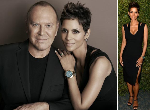 Pregnant Halle Berry Charity Watches Michael Kors