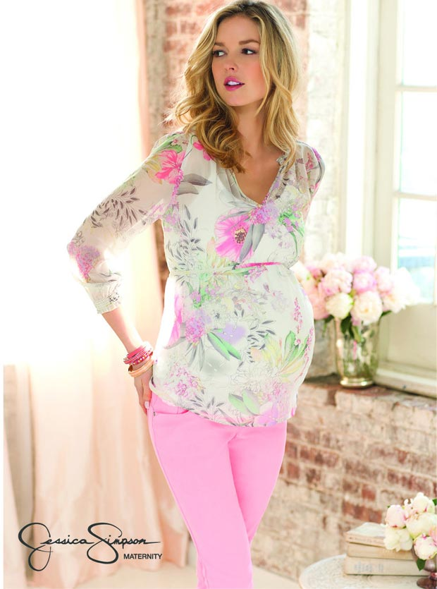 pregnant wardrobe must have Jessica Simpson maternity