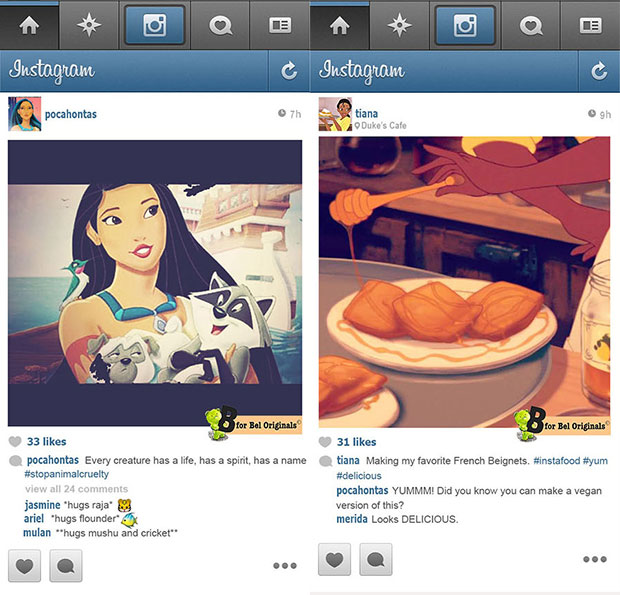 prettiest Instagram pictures Disney Princesses