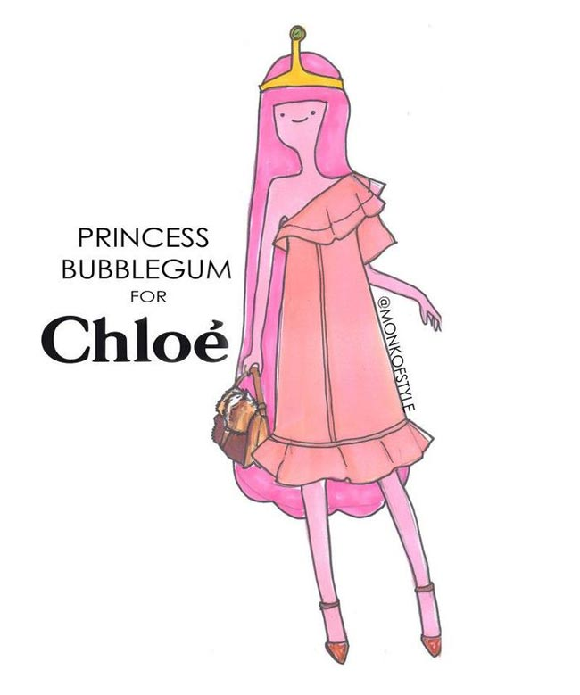 Princess Bubblegum wardrobe update Chloe