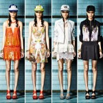 printed summer dresses Just Cavalli Resort 2013