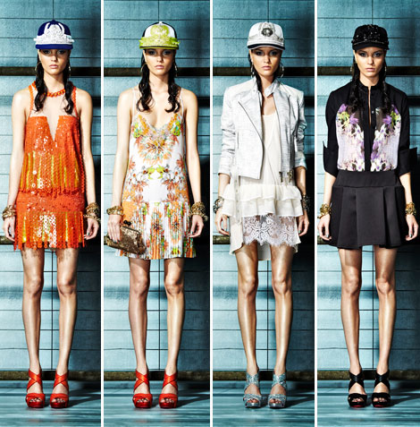 Just Cavalli Resort 2013 Collection Exotic Prints