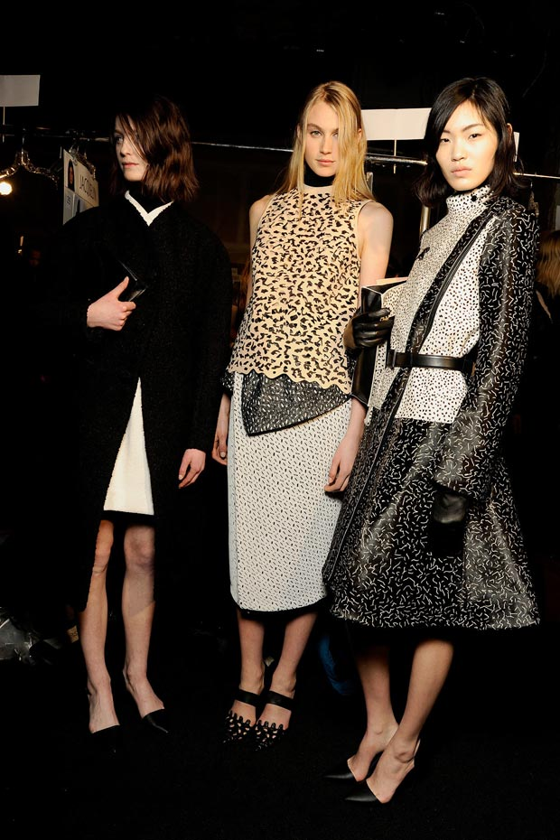 Proenza Schouler Fall 2013 Collection backstage