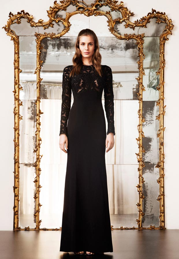 Pucci black dress Pre Fall 2013