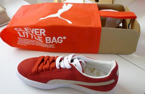 puma clever little bag shoes box