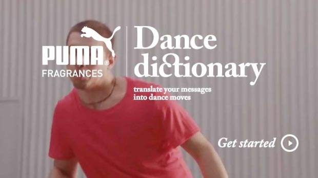 Wear Your Message, Dance Your Words: Puma Dance Dictionary