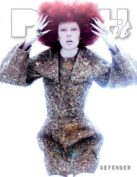 Push it Magazine Defender Issue McQueen cover