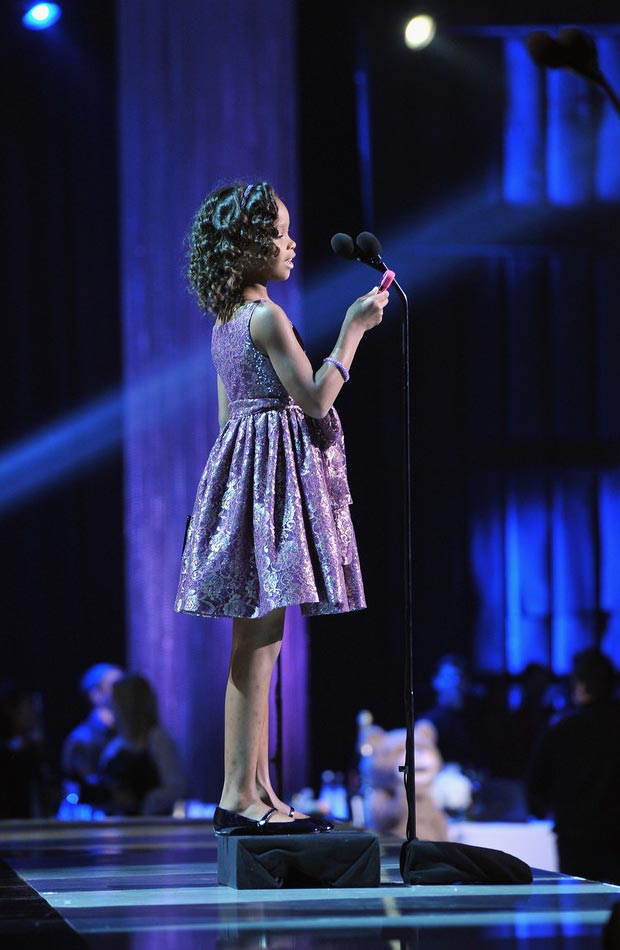 Quvenzhane Wallis speech Critics Choice Awards 2013