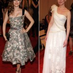 Rachel Bilson Louis Vuitton dress Kristen Dunst Rodarte dress Met 2010