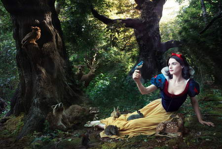 Rachel Weisz Disney Snow White by Annie Leibovitz