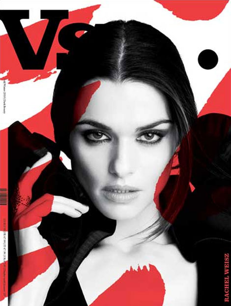 Rachel Weisz Vs Magazine Fall 2010 cover