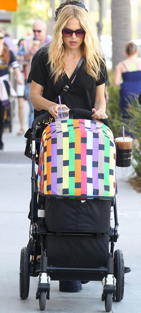 Rachel Zoe&#8217;s Bugaboo Missoni Baby Stroller For Baby Skylar