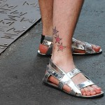 Raf Simmons Silver Metallic Sandals