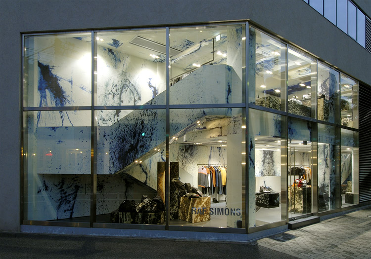 Raf Simons store from Tokyo Japan 3