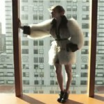 Raquel Zimmerman YSL FW 11 12 campaign video