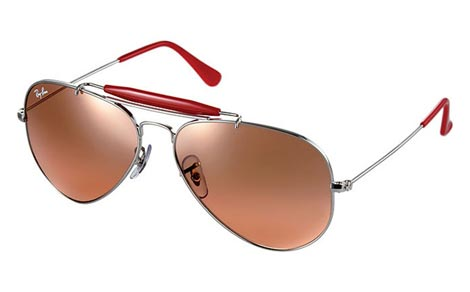 Ray Ban 2009 Summer red aviator
