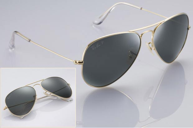 Ray Ban Aviators gold edition