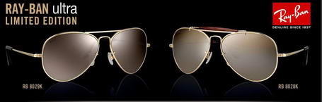Ray-Ban Ultra Limited Edition Gold
