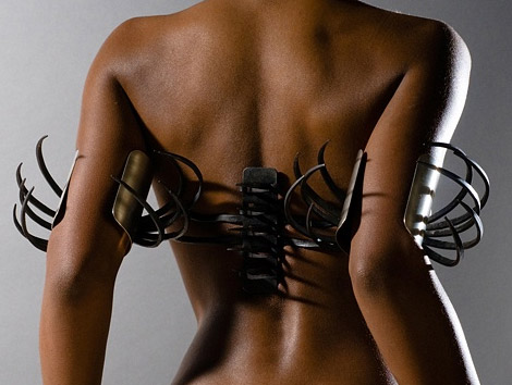Dare To Wear Rebekah Frank's Metal Jewelry