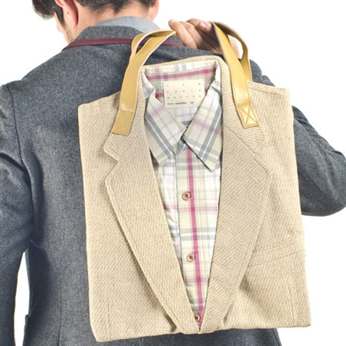 Dare To Wear The Joe Recycled Suit Tote?