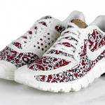 red Liberty Nike sneakers