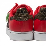 red Adidas Originals Chinese New Year sneakers