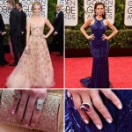 Red Carpet nail art Golden Globes Greer Grammer Maria Menounous