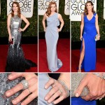 Red Carpet nails trends Golden Globes Julianne Moore Amy Adams Cindy Crawford