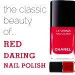red nail polish must have