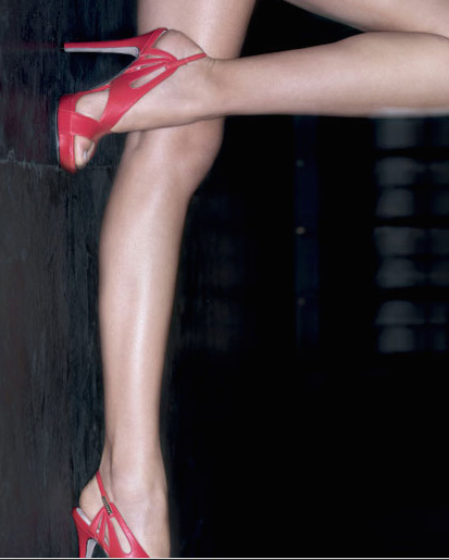 Red Sandals Versace Summer 09 — StyleFrizz