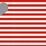 red stripes grey colors combo
