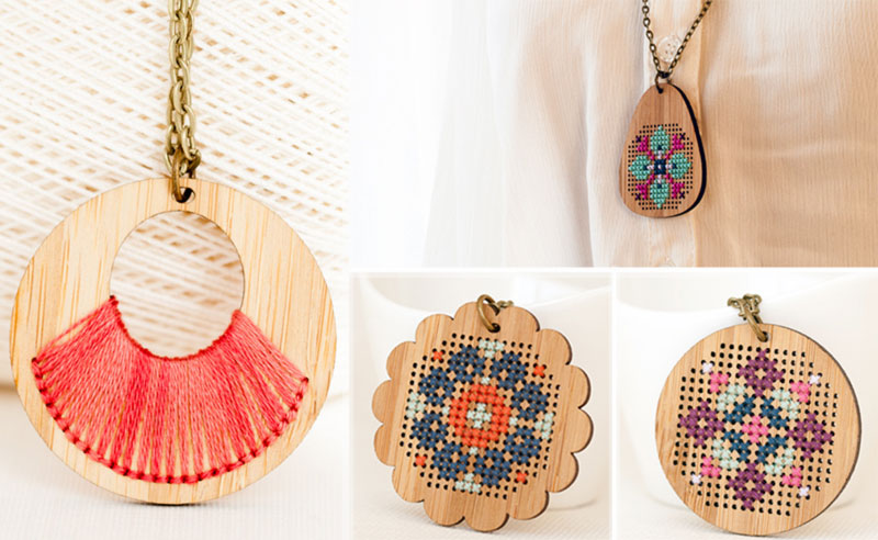 Red Gate Stitchery jewelry