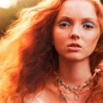redhead model Lily Cole