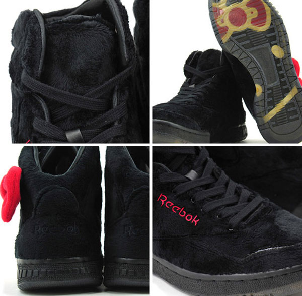 Reebok Hello Kitty Plush Kitty sneakers black