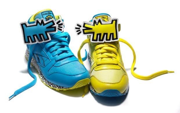 Reebok Keith Haring sneakers collection