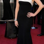 Reese Witherspoon Black Armani Prive dress 2011 Oscars