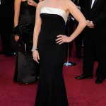 Reese Witherspoon black Armani dress 2011 Oscars 2