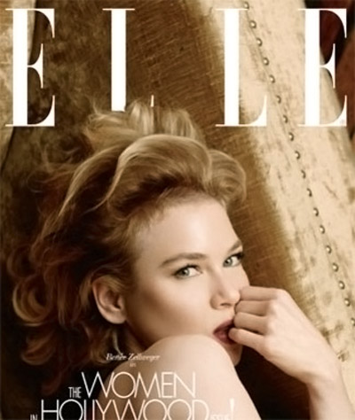 Katie, Julianne, Zoe, Renee, Emily Cover Elle's November 2009 Women In Hollywood Issue