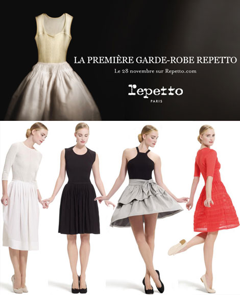 La Garde Robe Repetto. Repetto's Dancer Clothing Inspired Wardobe