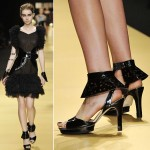 Repetto Karl Lagerfeld SS09 black
