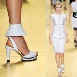Repetto Karl Lagerfeld SS09 white