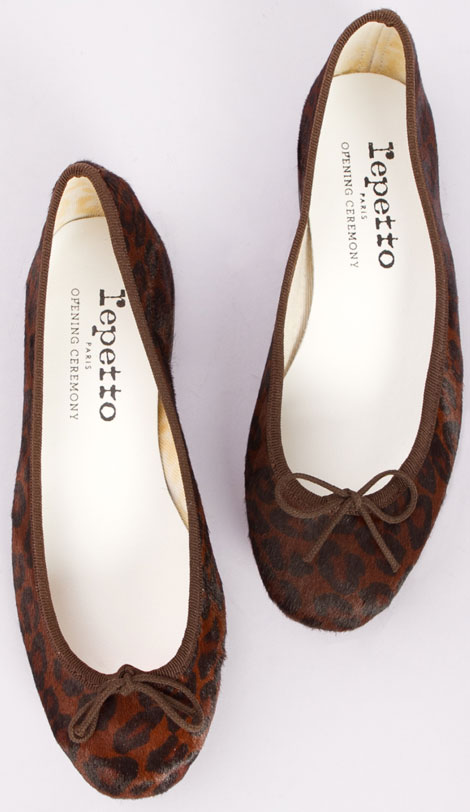 Repetto Opening Ceremony ballerina shoes 2010