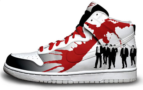 Reservoir dogs hand painted sneakers