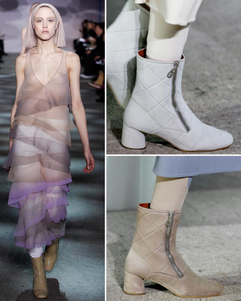 retro zipper booties Fall 2014 Marc Jacobs