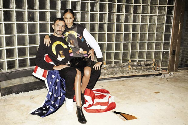 Riccardo Tisci Does Self Service With Joan Smalls