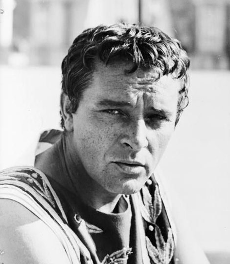 Richard Burton bw photo