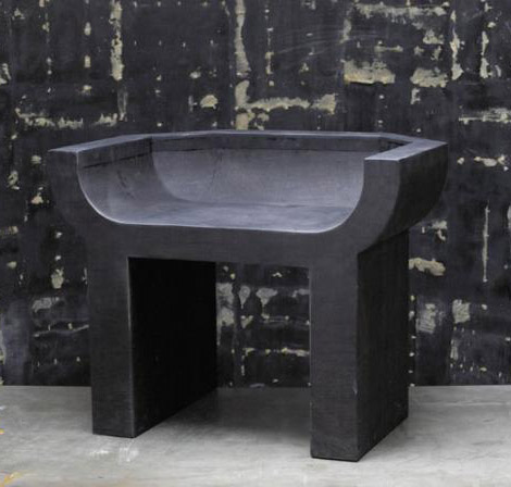 Rick Owens Curial chair black